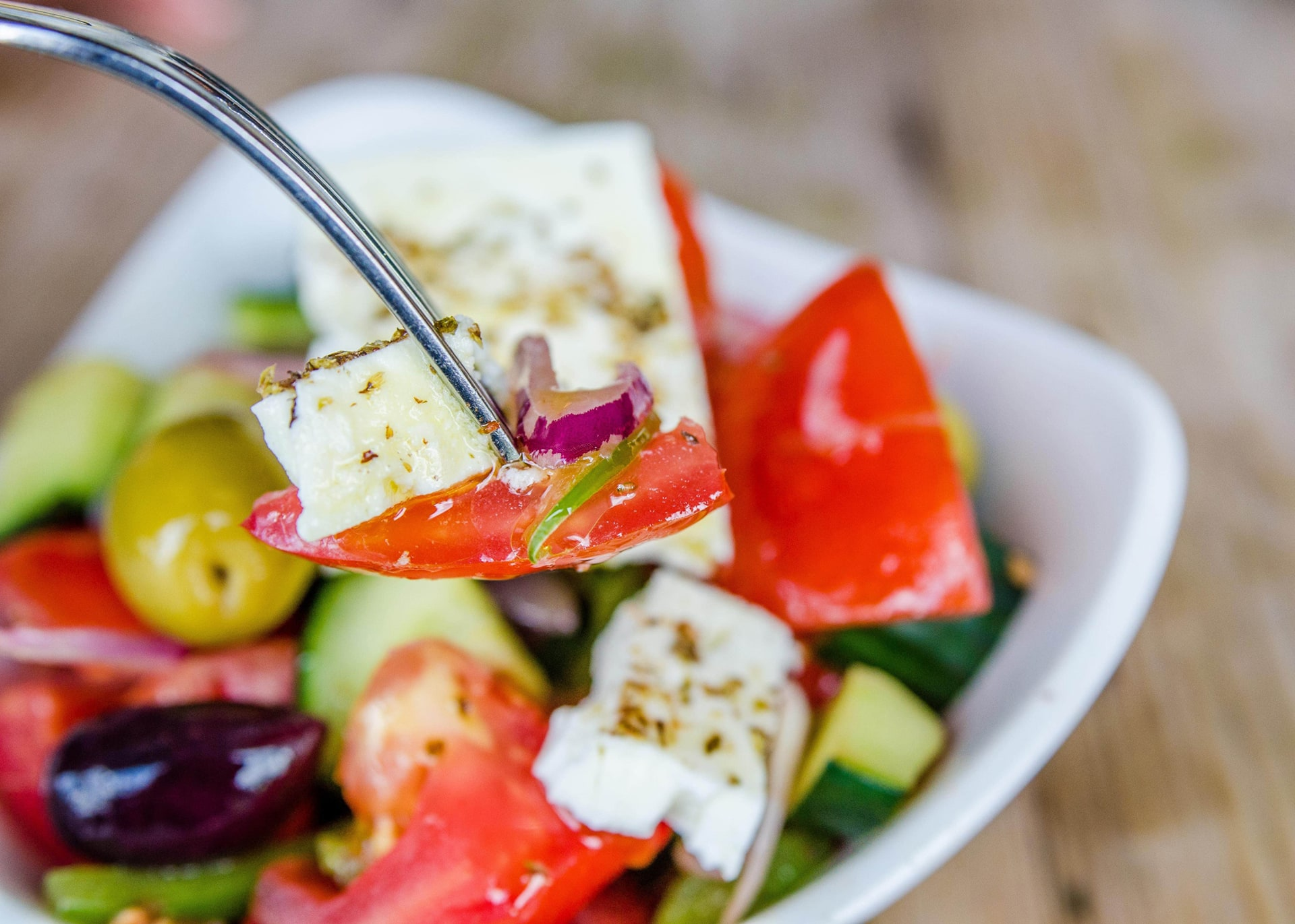 The Real Greek - Greek Food & Ingredients - Greek Salad