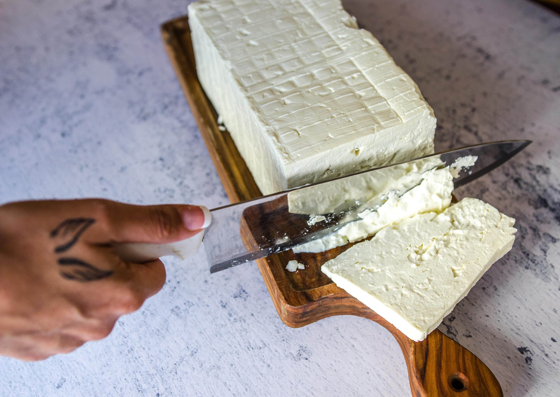 WE ONLY USE THE MOST AWARDED FETA TO MAKE EVERYTHING BETTER