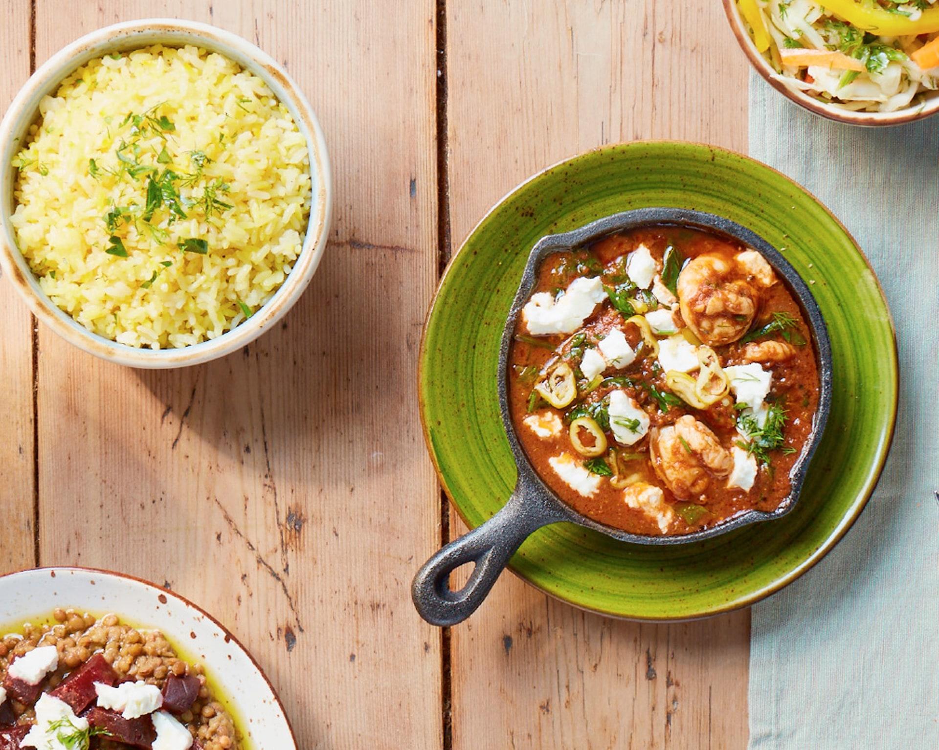 The Real Greek - Greek Food & Ingredients - Prawn Saganaki