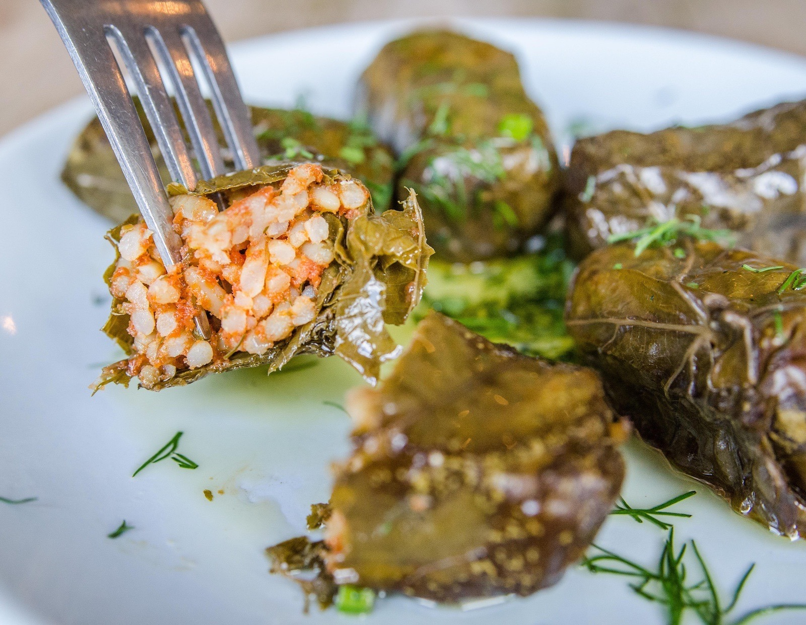 Dolmades the real Greek