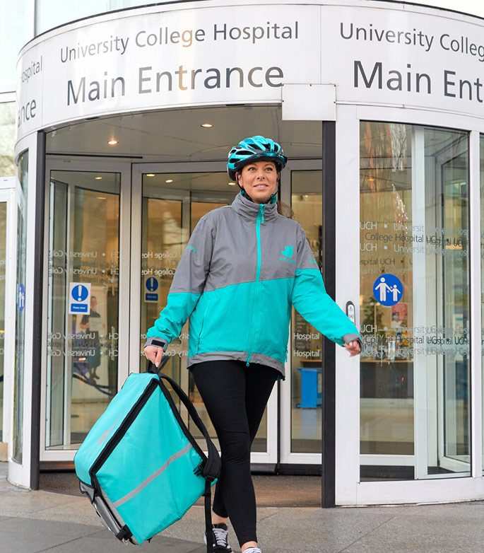Feed the frontline - deliveroo-hospital