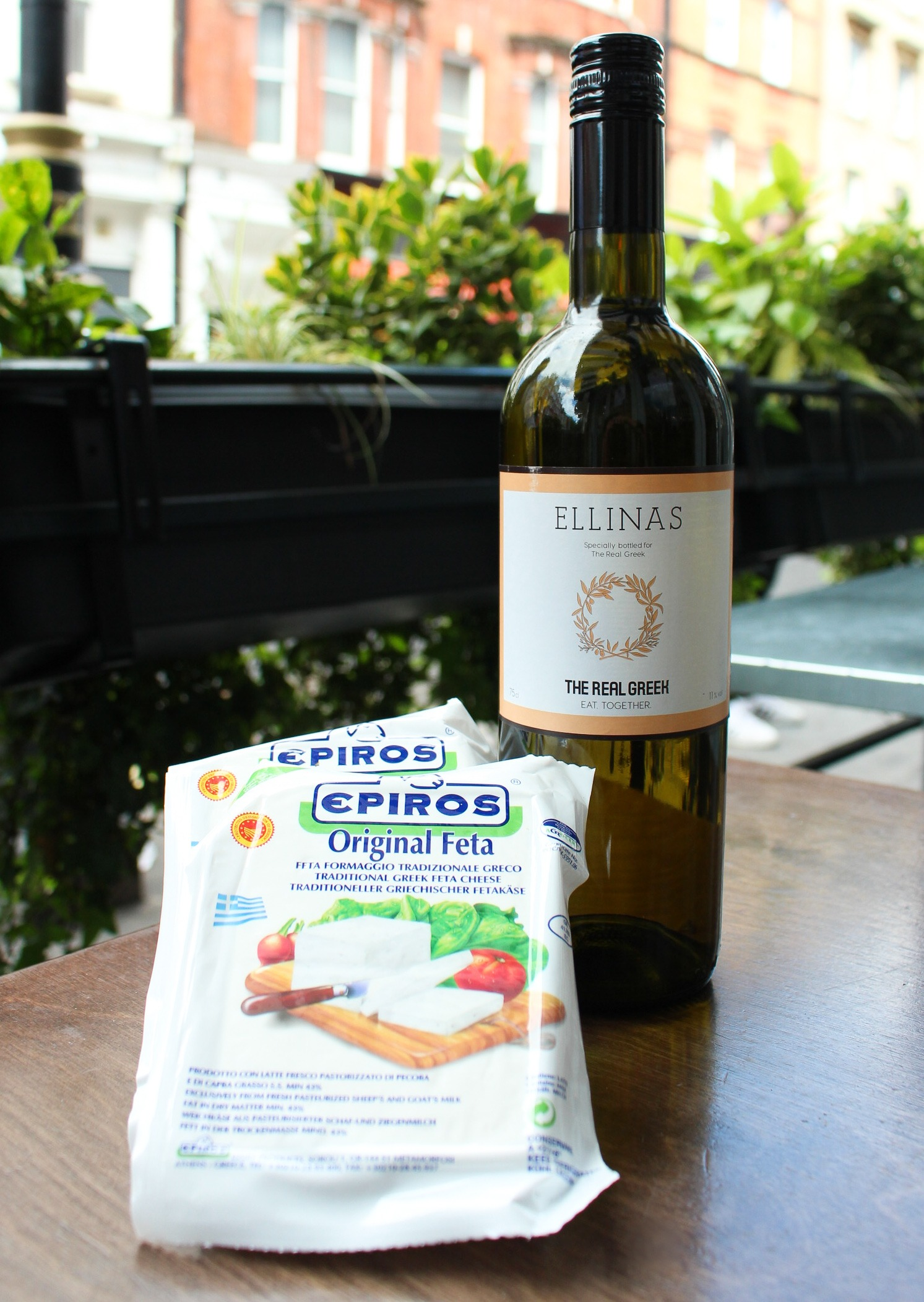 The Real Greek - Wine and Cheese - Ellinas