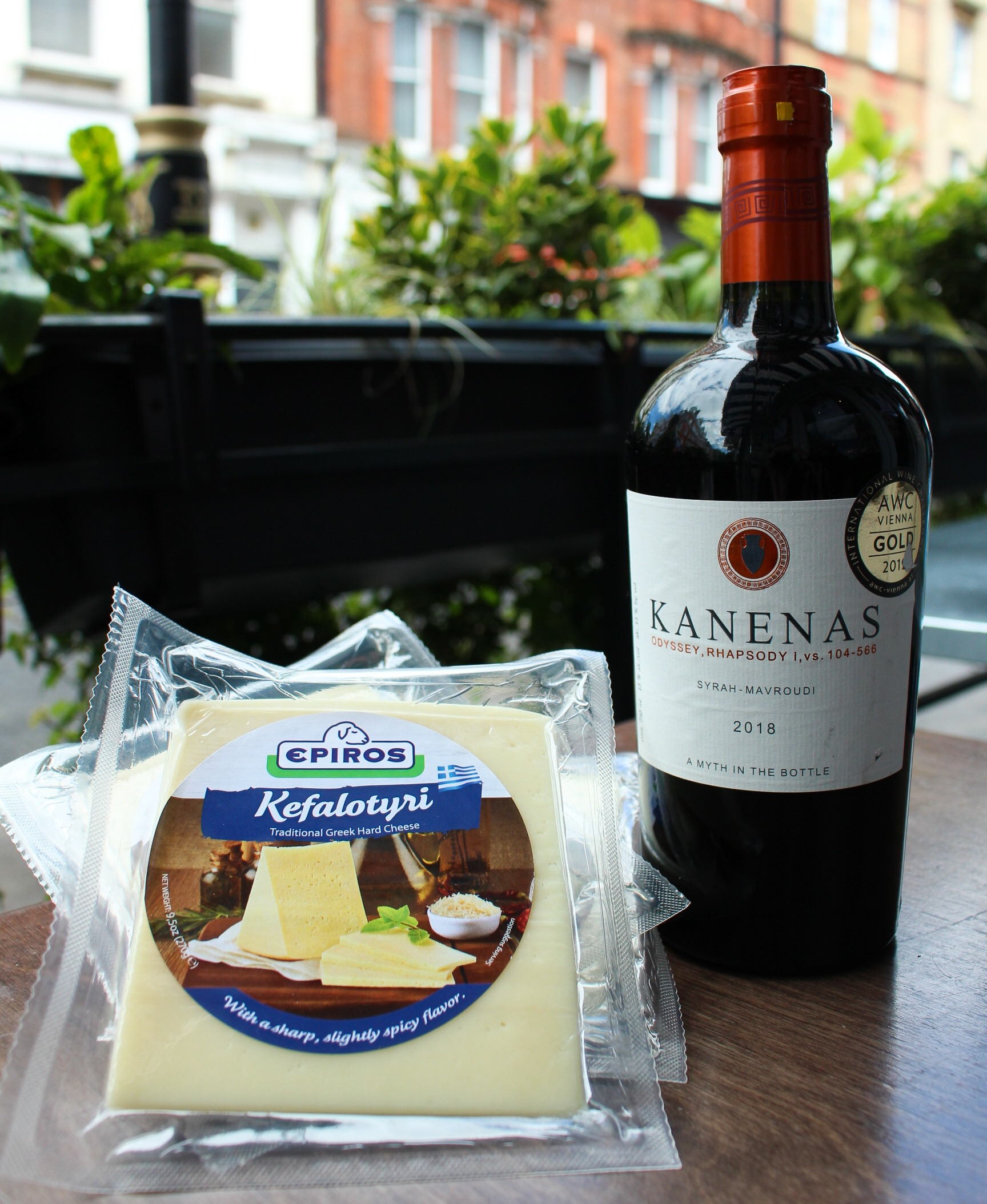 The Real Greek - Wine and Cheese - Kanenas