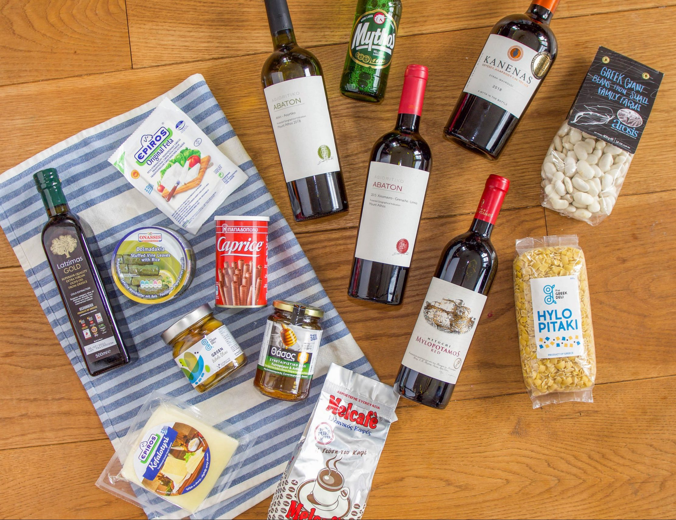 The Real Greek Shop - Greek Wine - Produce - Greek Olive Oil - Dolmades - Coffe