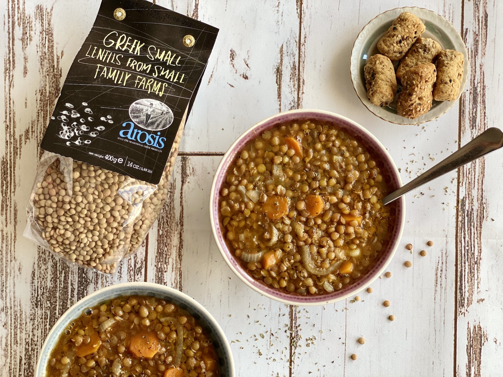 GREEK LENTIL SOUP 'FAKES'